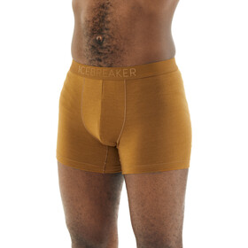 Icebreaker Anatomica Cool-Lite Boxers Heren, curry